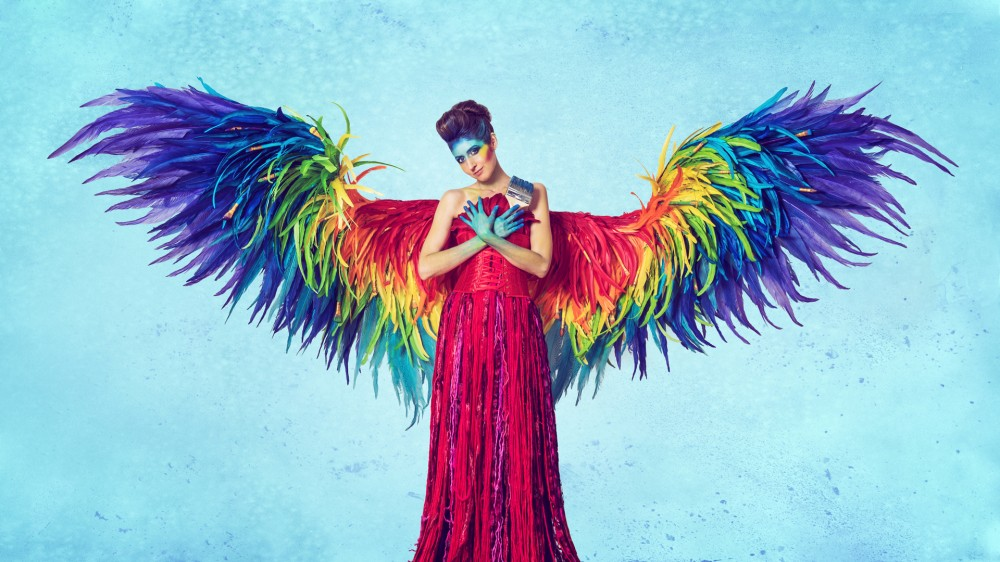 "Ph0247e 114  ""Rainbow Wings"" with Laura Hollick - Photo: Stephanie Pehar"