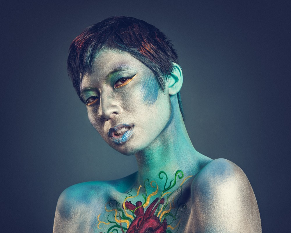 Makeup: Ashley Vieira, Model: Kalopsia - Photo: Stephanie Pehar